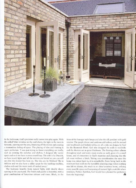 Ireland's Homes Interiors and Living May 2009 k